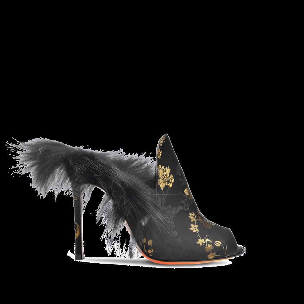 mules pelliccia