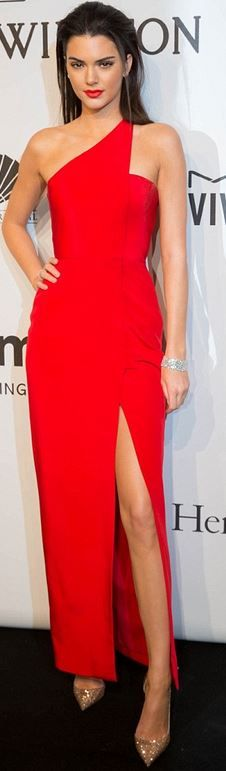 kendall jenner red