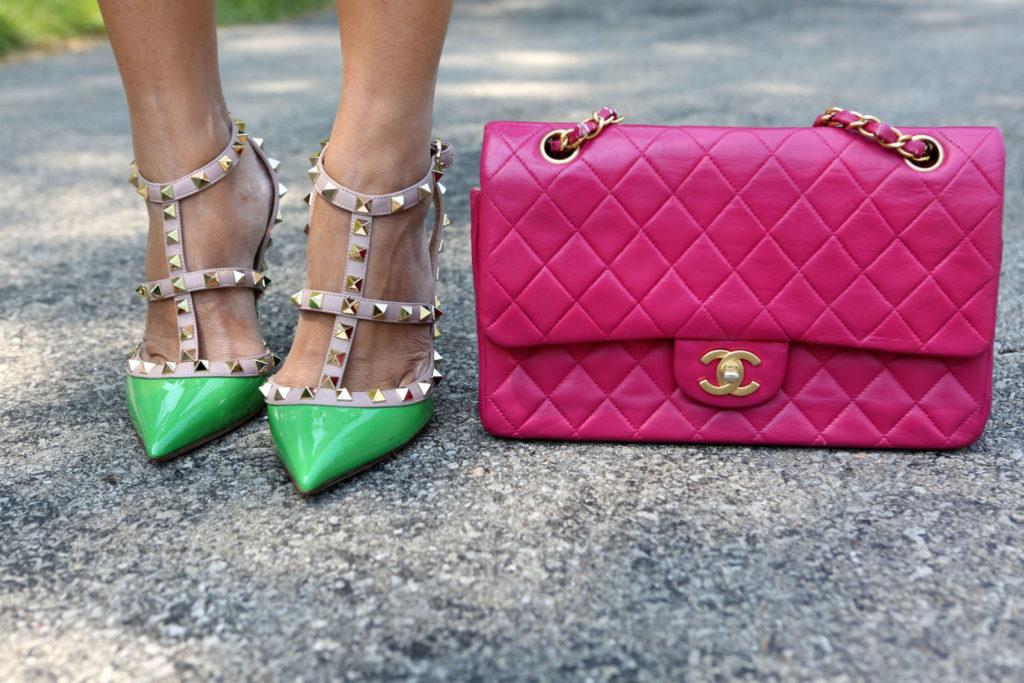 abbinare scarpe e borsa