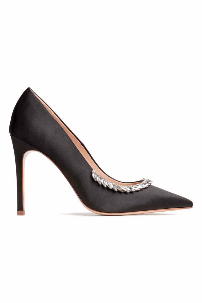 scarpe con strass