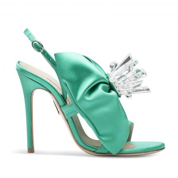 a by annabelle sandali verde smeraldo