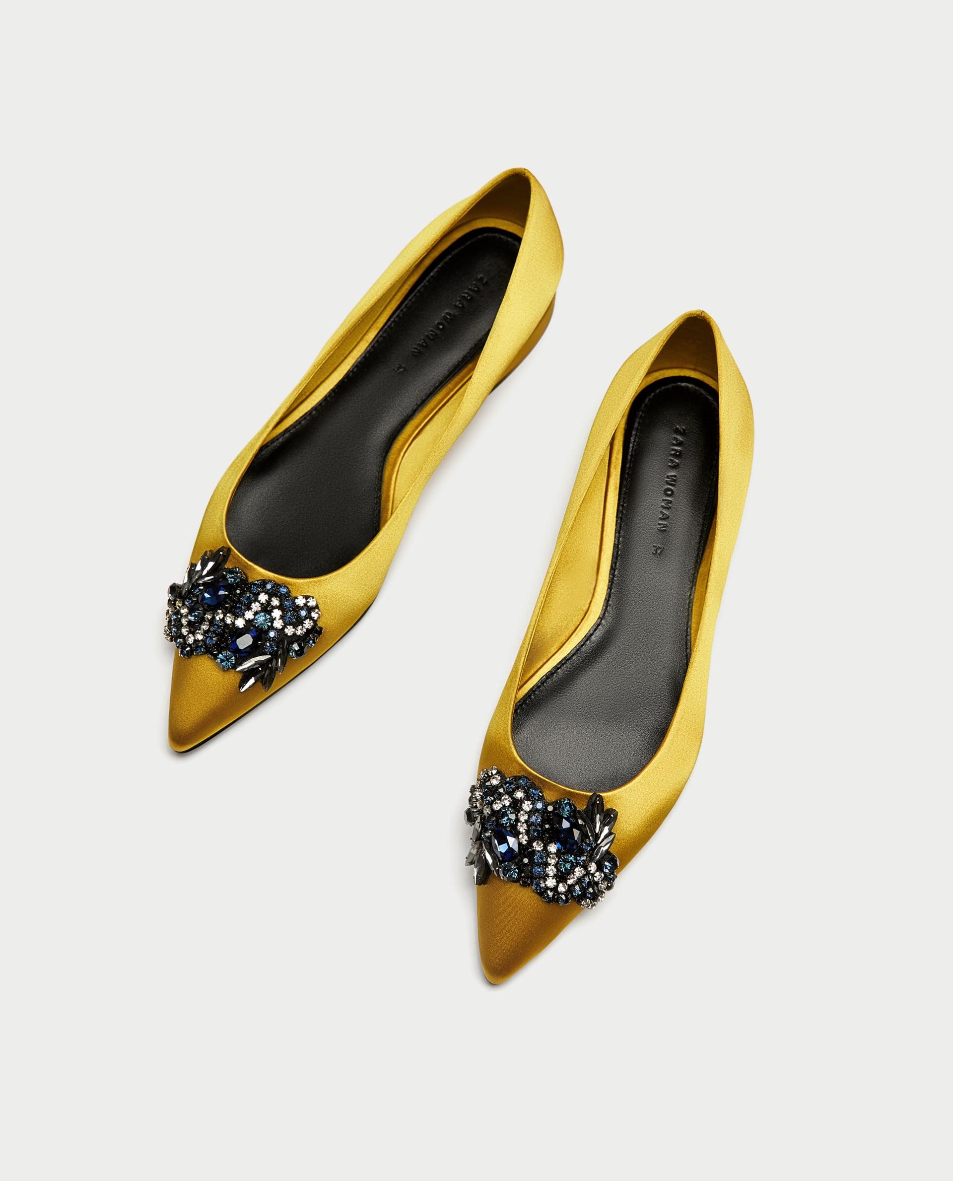 ballerine gialle zara - Shoeplay Fashion blog di scarpe da donna 05b22afd4a1