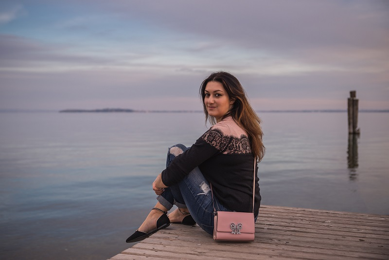 fashion blogger scarpe lago di garda