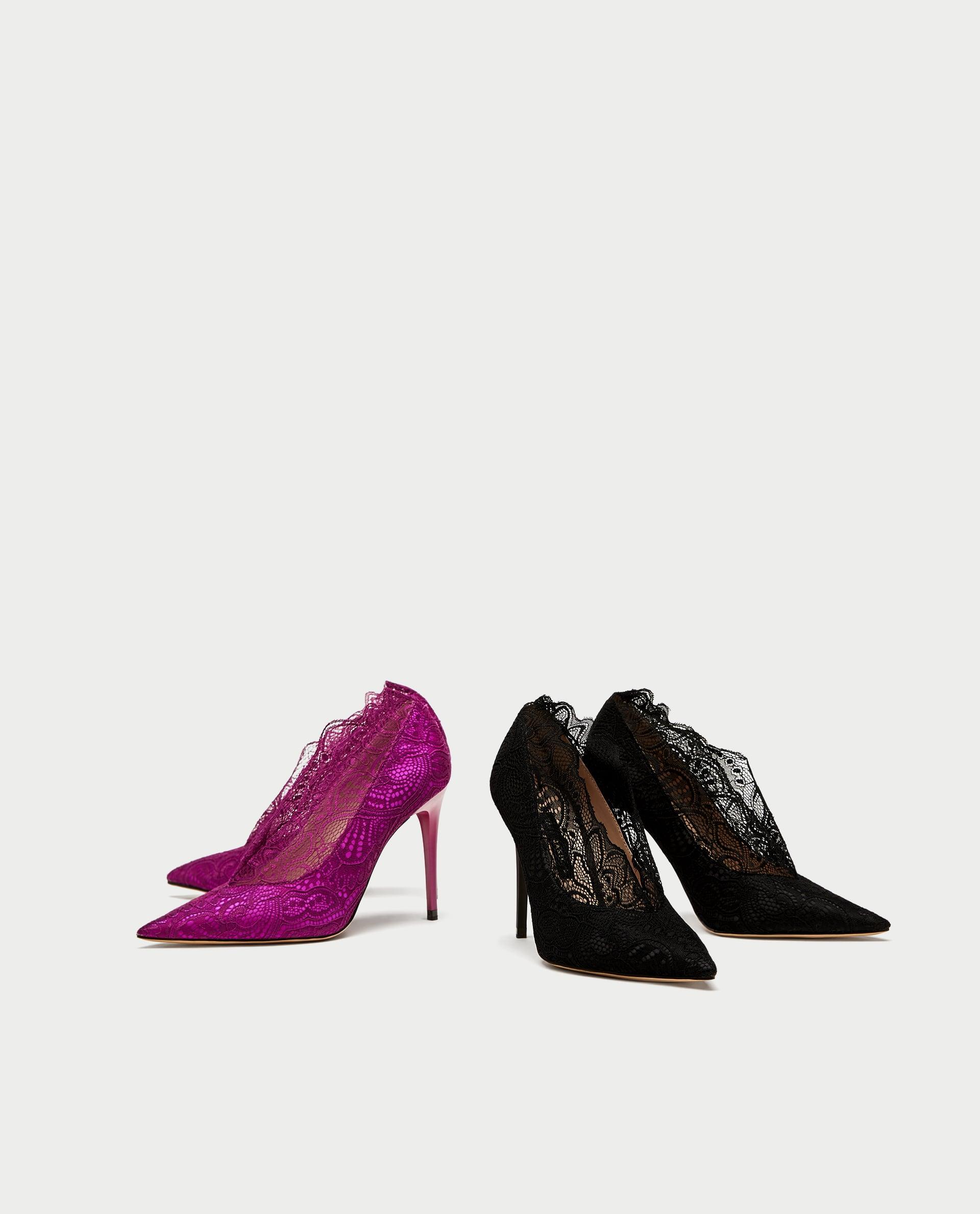 scarpe pizzo zara - Shoeplay Fashion blog di scarpe da donna 5b64d202763