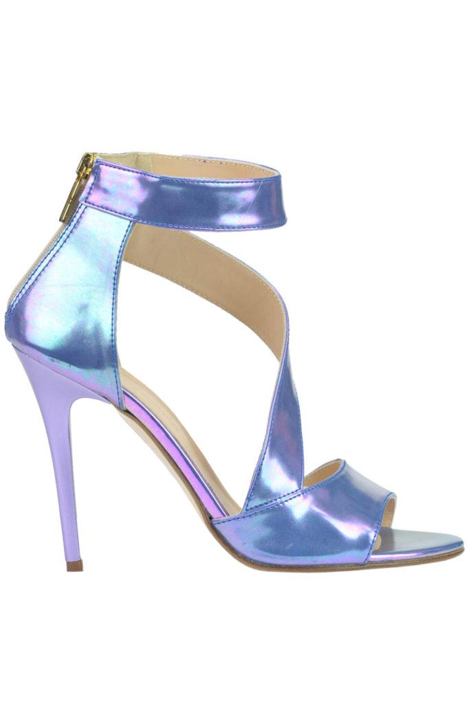 sandali iridescenti
