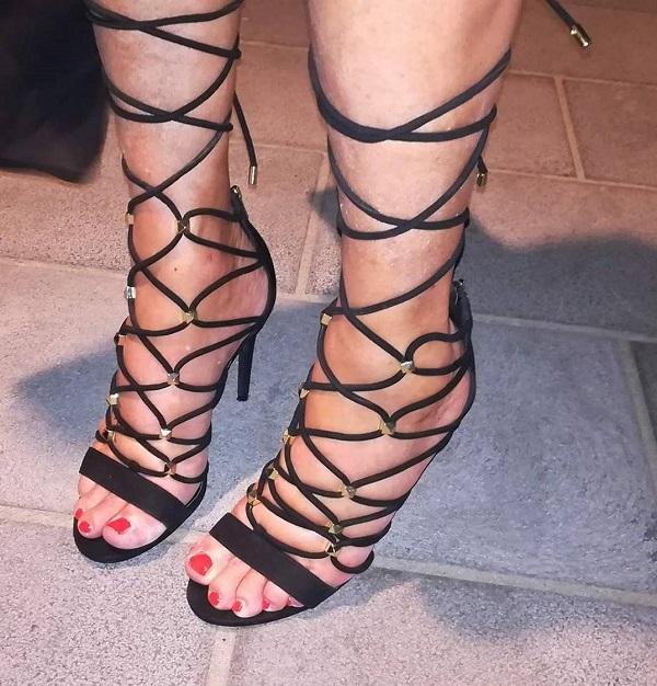 sandali lace up