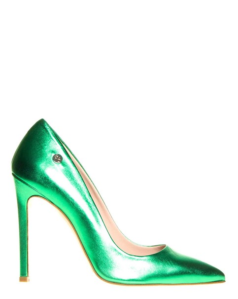 scarpe verde smeraldo