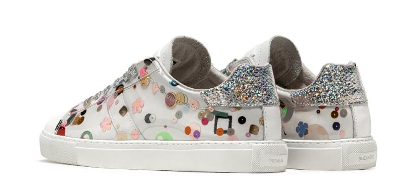 sneakers paillettes date prezzo