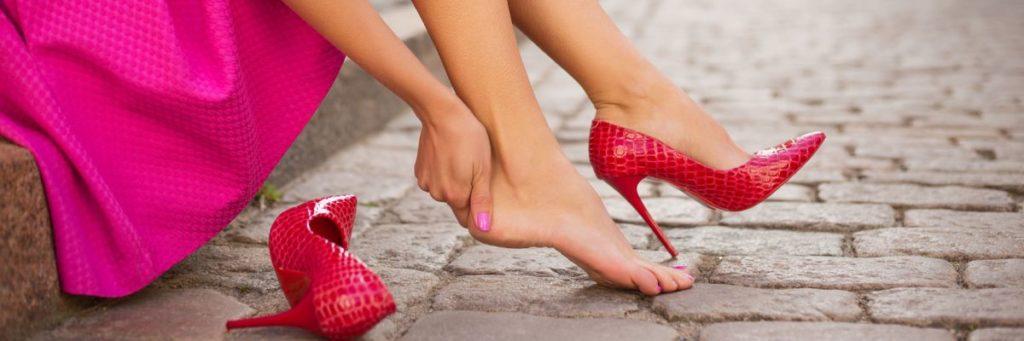 mal di piedi a primavera