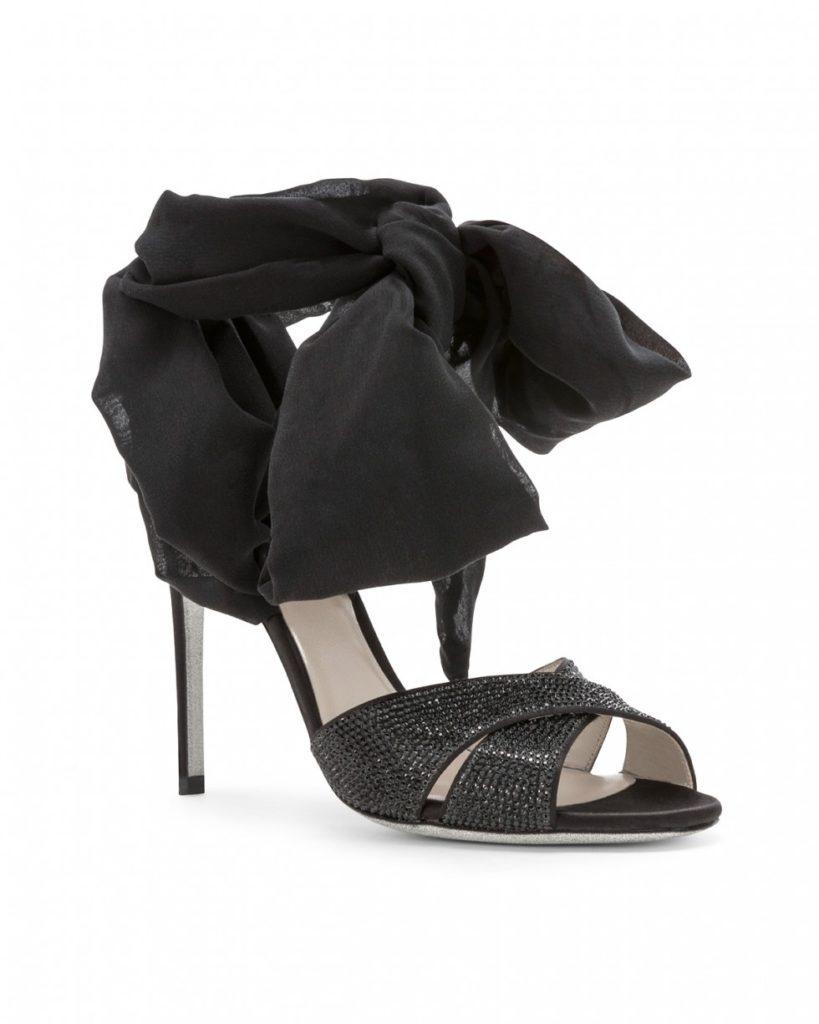 sandali gioiello neri