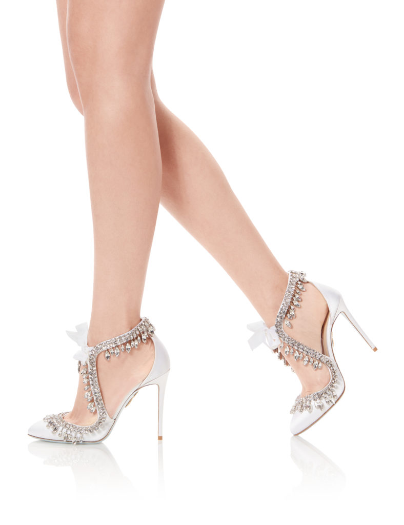 scarpe da sposa gioiello