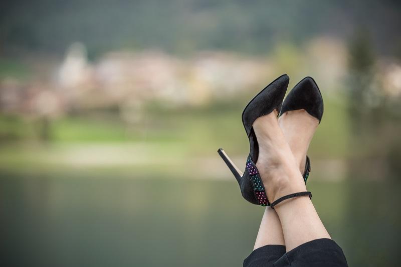 decollete cinturino caviglia