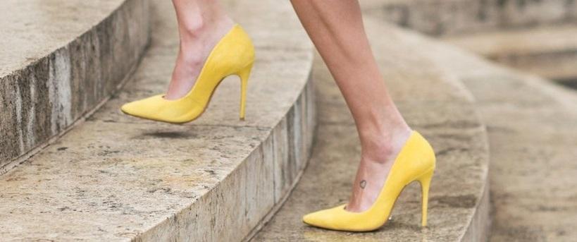 fc55385f6 Come abbinare le scarpe gialle - 10 Abbinamenti per le scarpe gialle