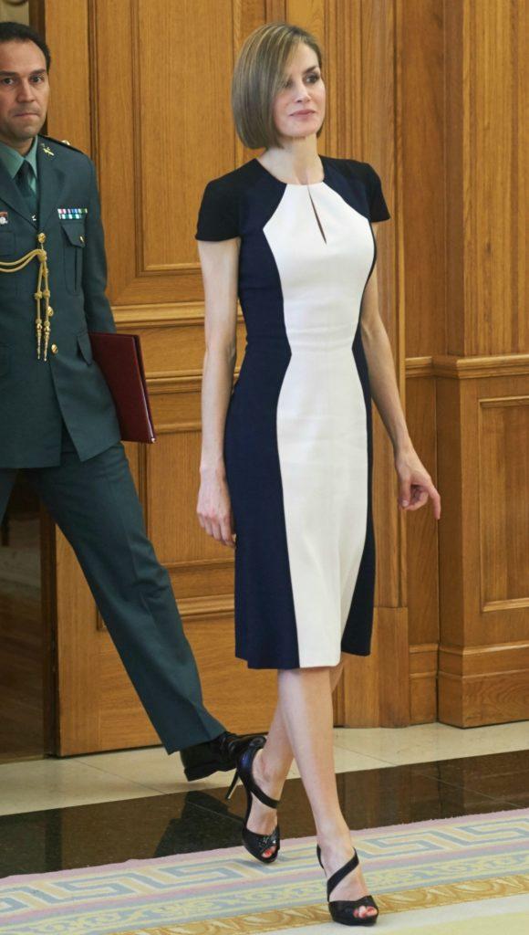 letizia ortiz vestito