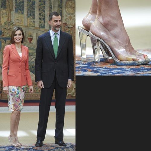 letizia di spagna scarpe
