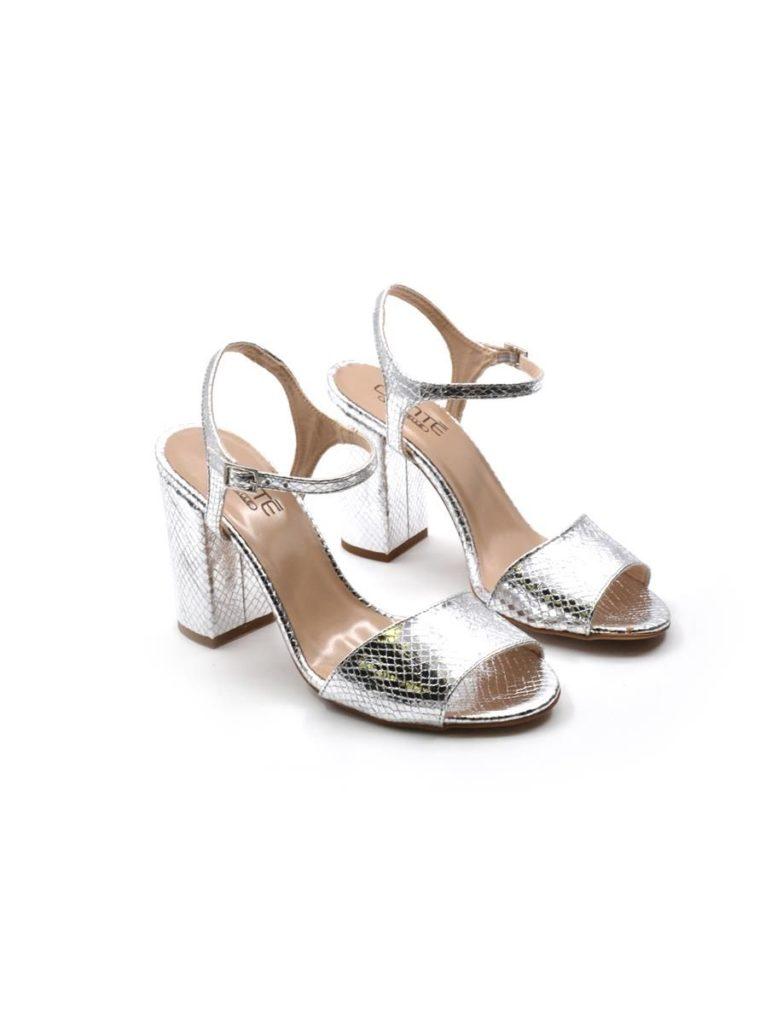 sandali argento low cost