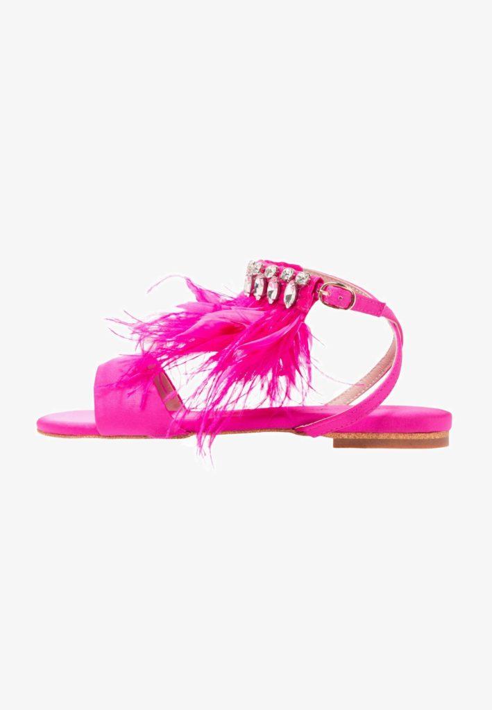 sandali piatti colorati