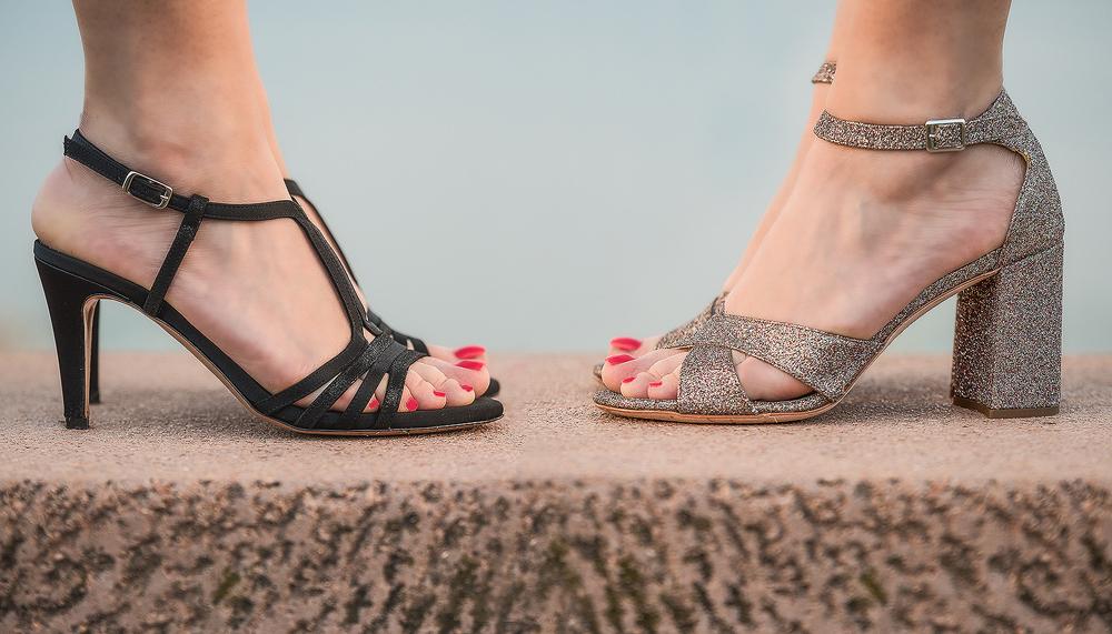 new style 46197 531a8 Scarpe comode eleganti - Cerimonie e feste estive: due ...