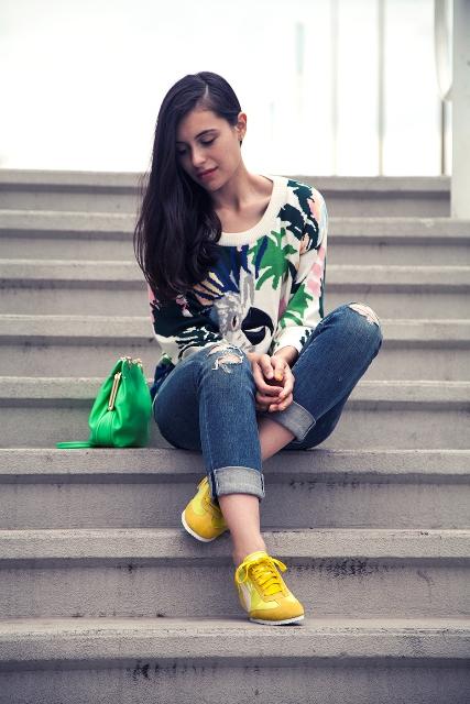 scarpe gialle idee abbinamento