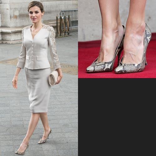 scarpe di letizia ortiz