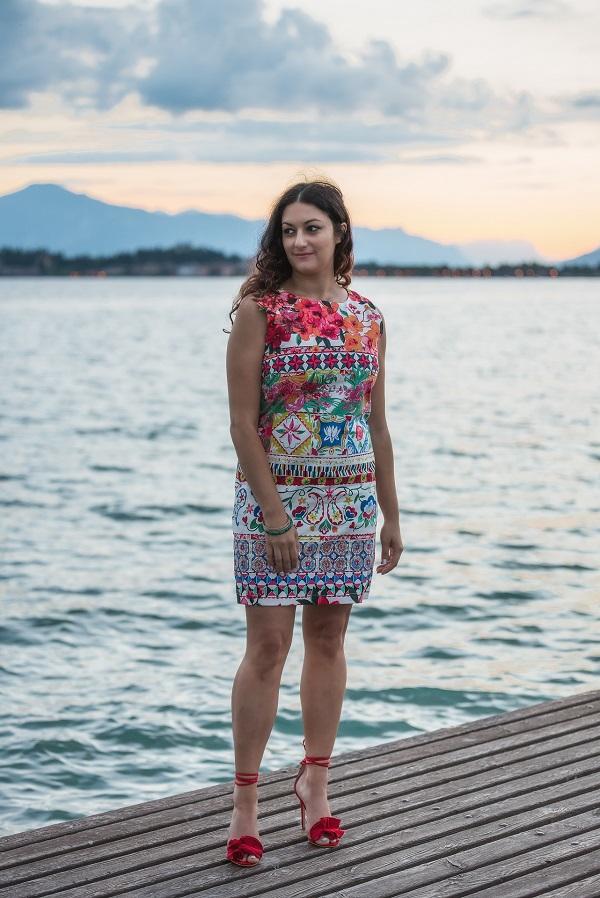 vestito maiolica