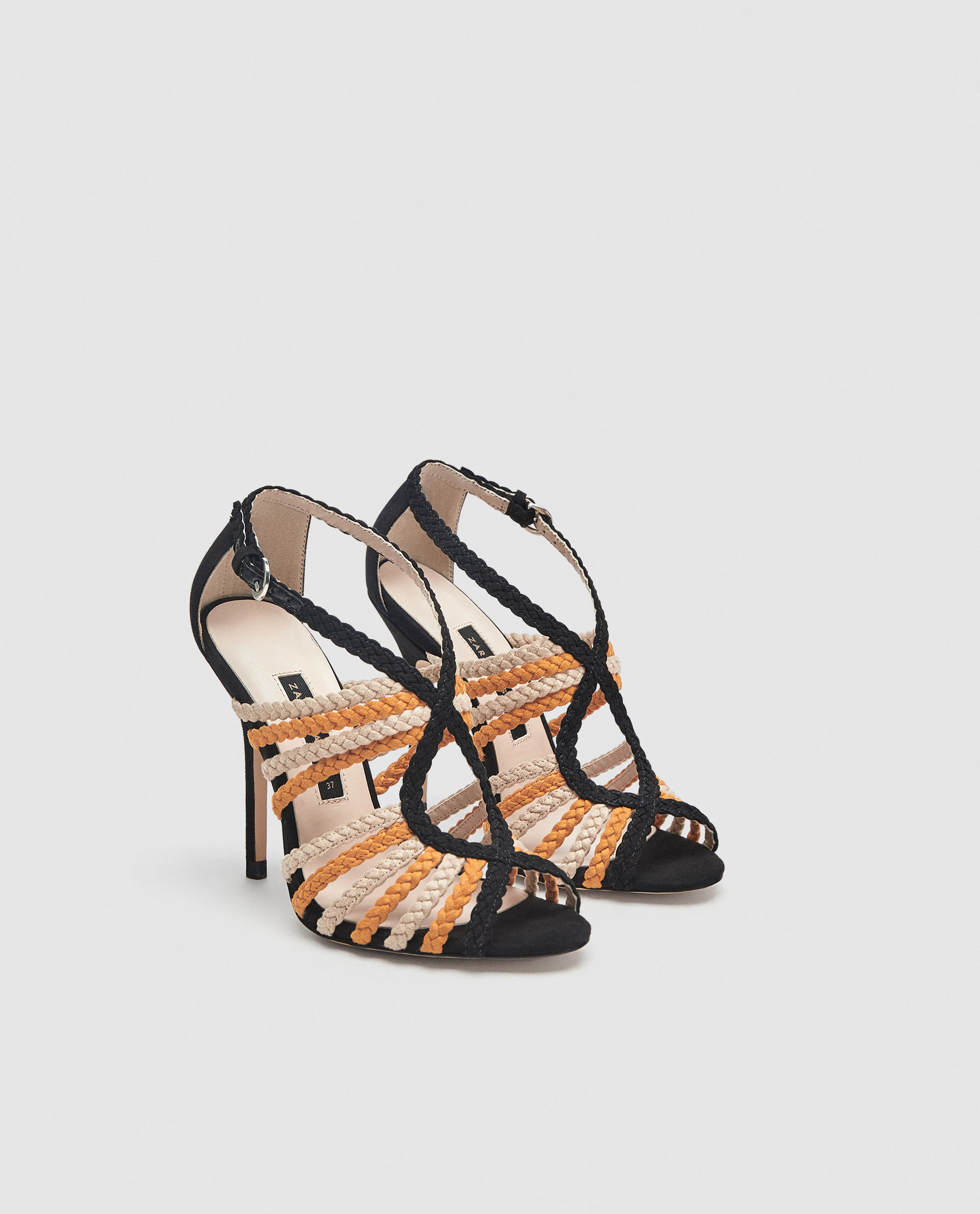 Zara Shoeplay Shoes para mujer Fashion Blog sandalias Of trenzadas IYWHeEb2D9