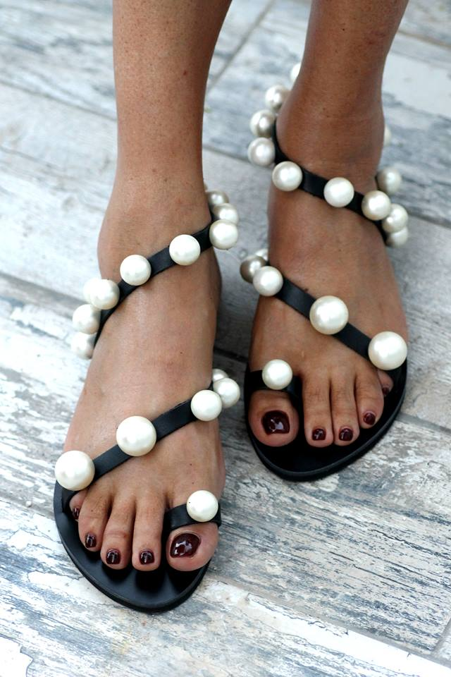 sandali perle 2018