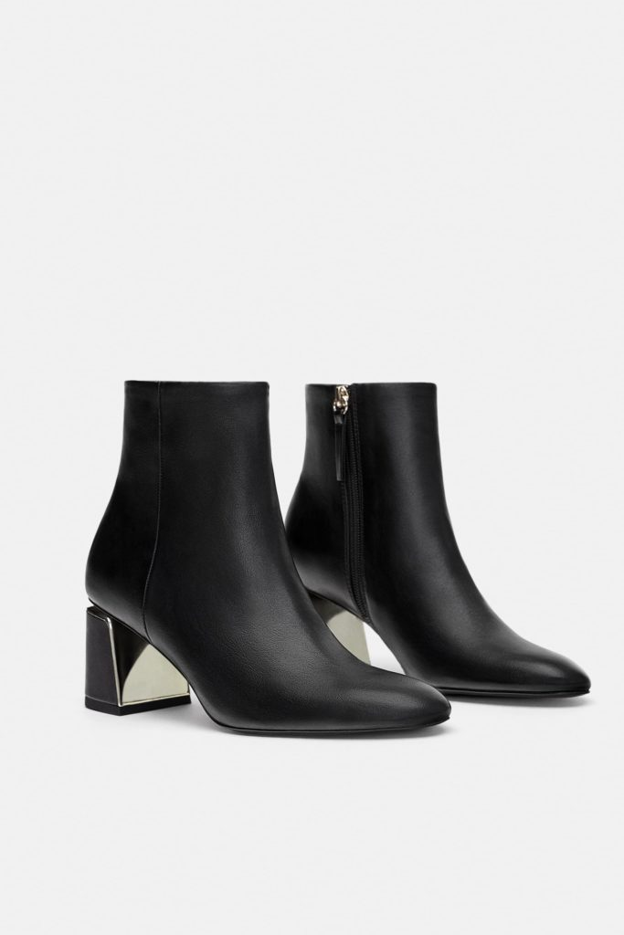 ankle boots tacco comodo