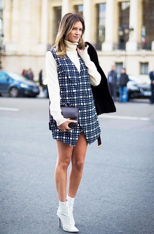 outfit stivaletti bianchi 2