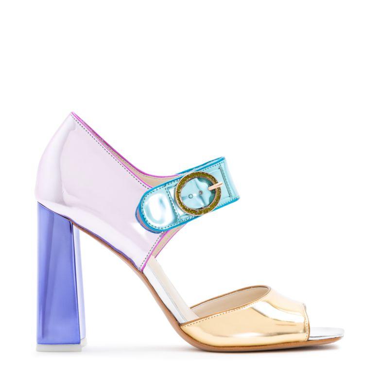 sandalo metallizzato