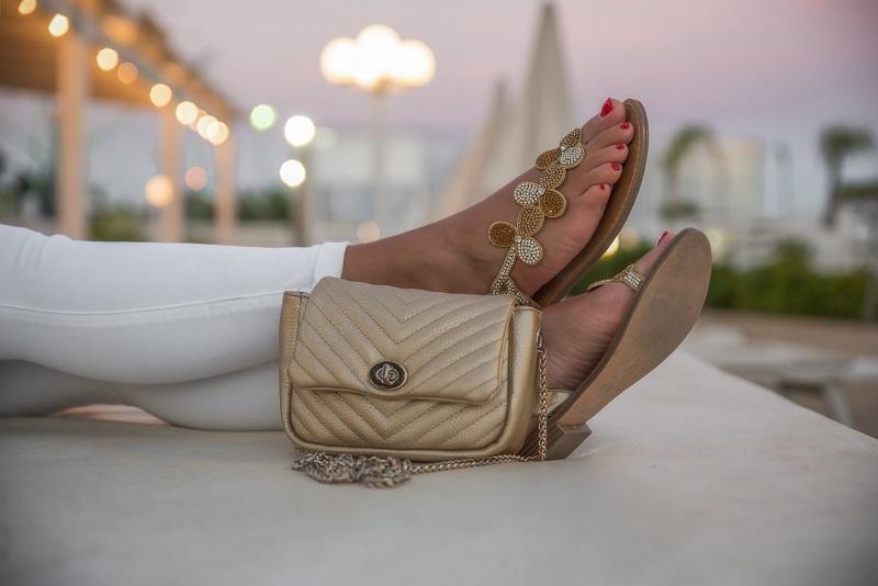 scarpe gold&gold