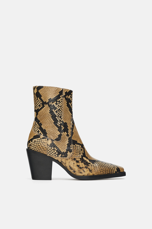 Comodo 2018 Di Zara Blog Shoeplay Stivaletti Tacco Scarpe Fashion Qsthdr