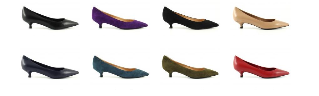scarpe tacco basso comodo