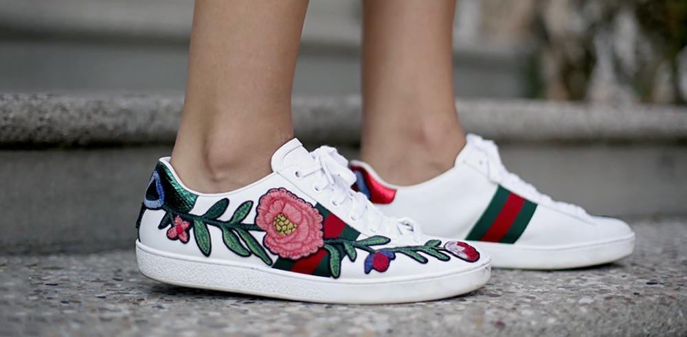 f36655b94c Sneakers simil Gucci: copia il look a meno di 50 Euro senza cedere al fake!