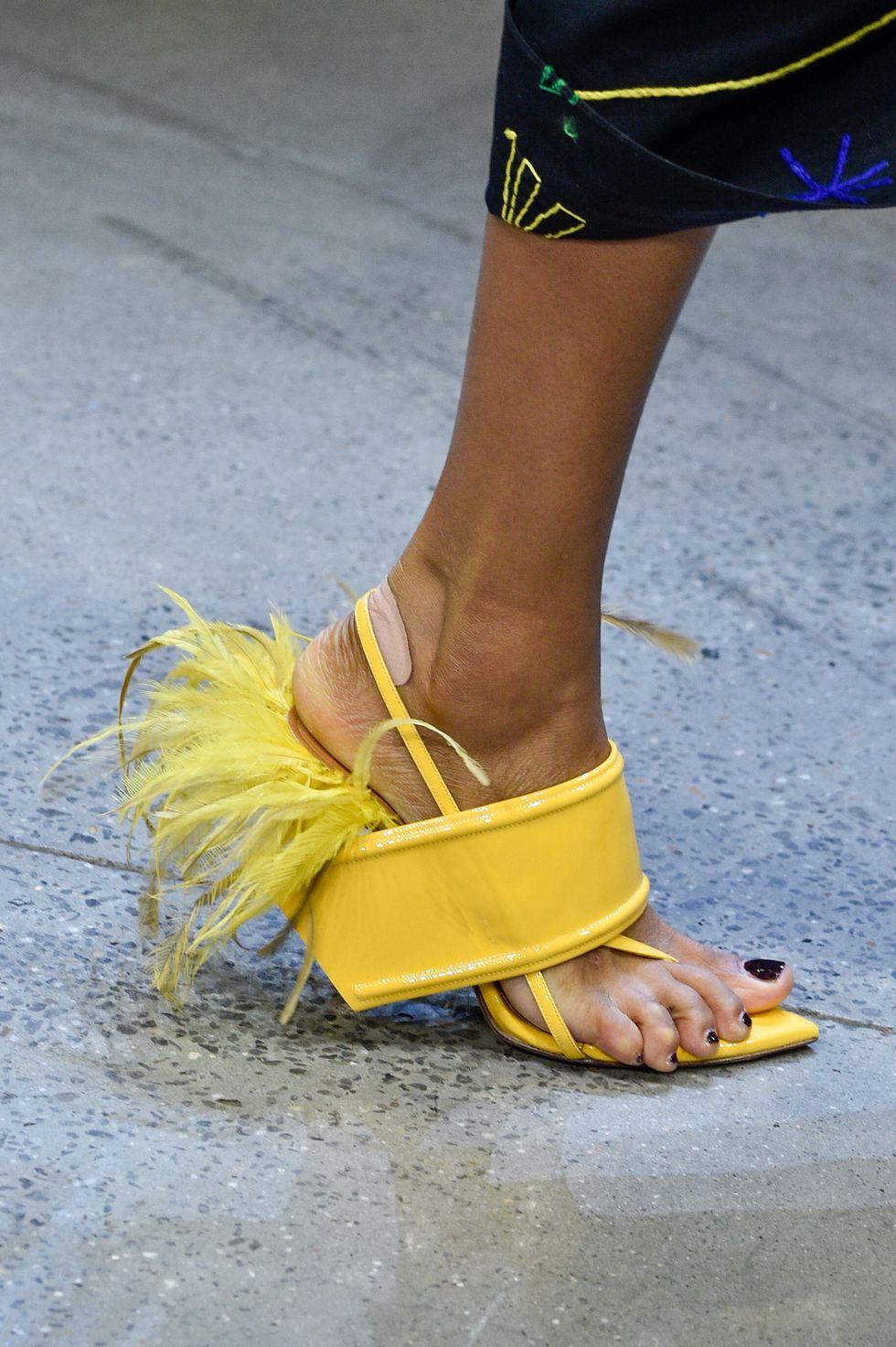 piume scarpe 2019