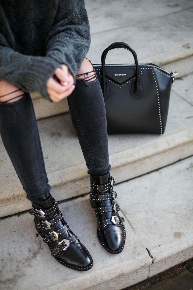 come abbinare scarpe borchie