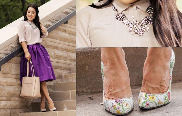 come abbinare scarpe colorate