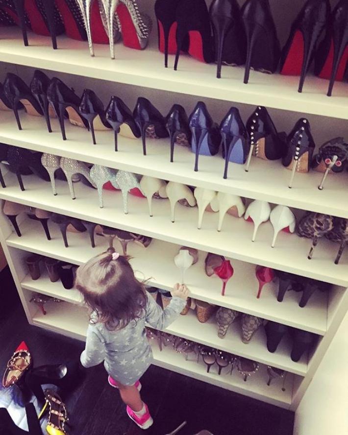 scarpe di wanda nara