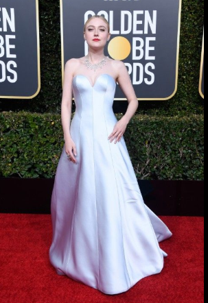 dakota fanning golden globe 2019