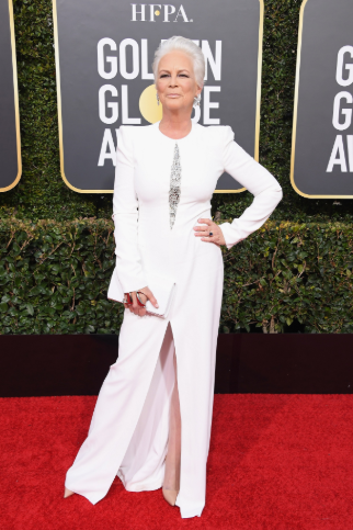 jamie lee curtis golden globe 2019