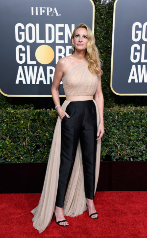 julia roberts golden globe 2019