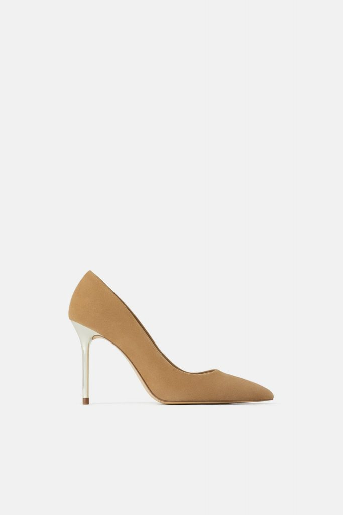 decollete nude zara