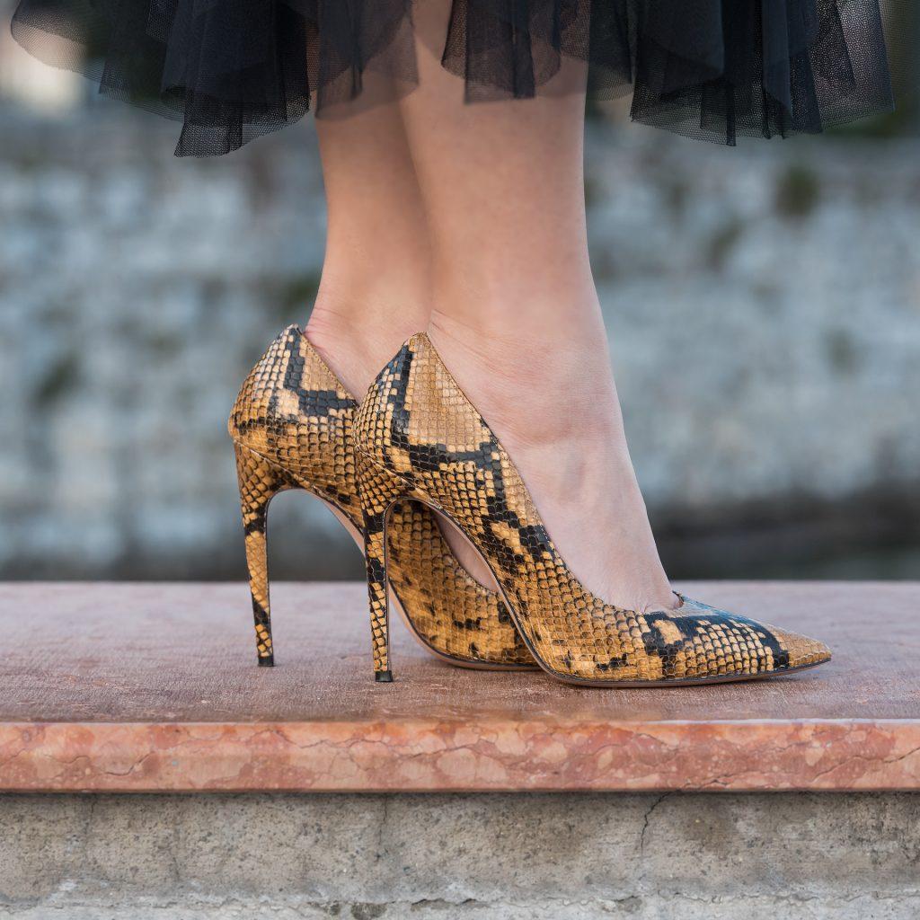 pubblicità per scarpe