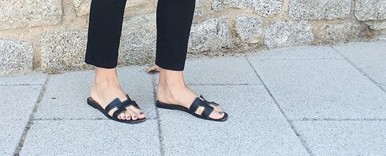 bella vista prezzo imbattibile enorme inventario Replica sandali Hermes Oran: dove acquistare le ciabattine ...