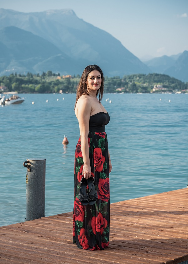 fashion blogger lago di garda