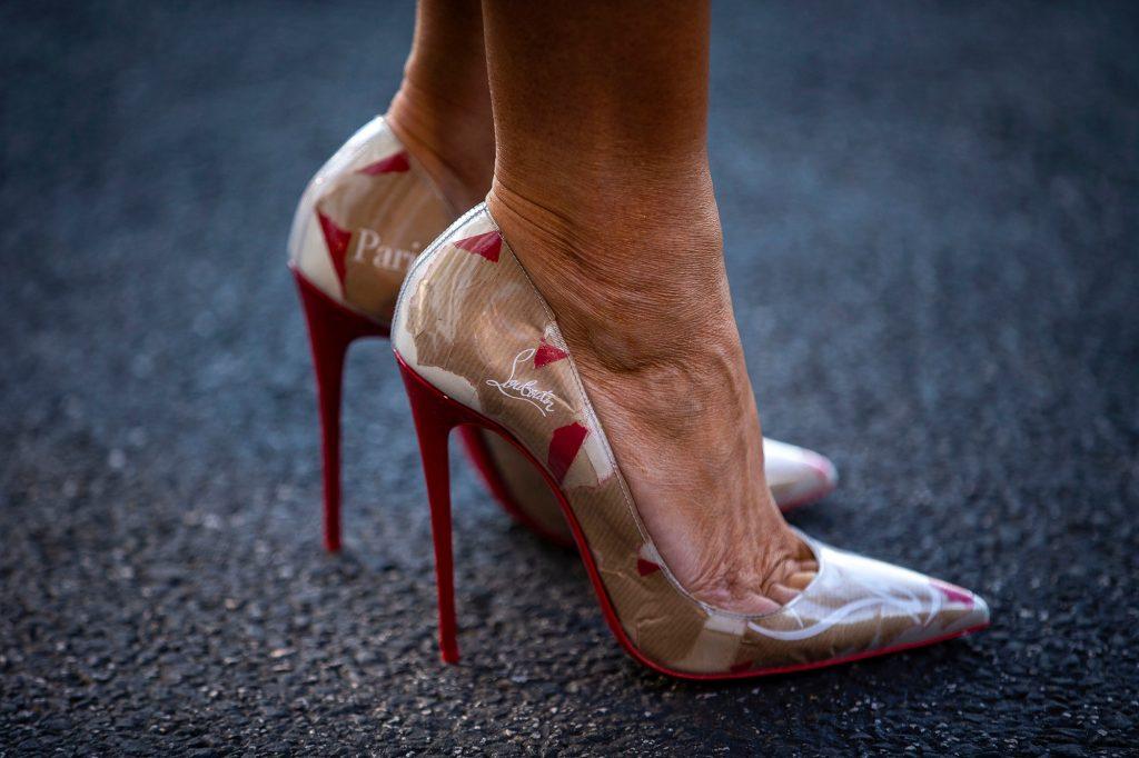 scarpe melania trump
