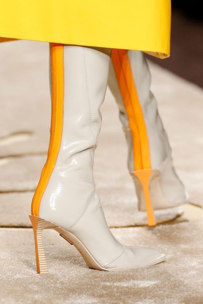 stivali bianchi 2019