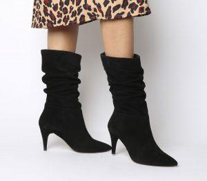 come indossare stivali al polpaccio