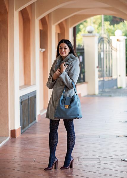 outfit colorato inverno