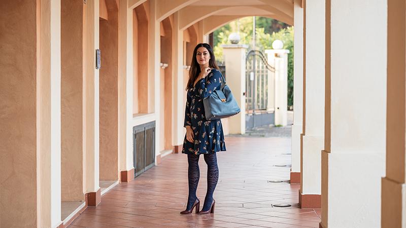 sara mallia outfit scarpe moda essenziale
